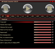 NV Audio Converter