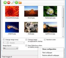 Starter Desktop Slide Show