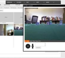 веб камера сигнализация