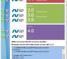 определить версию .NET Framework