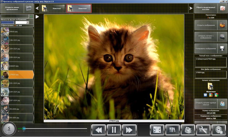 Приложение для просмотра и обработки фотографий