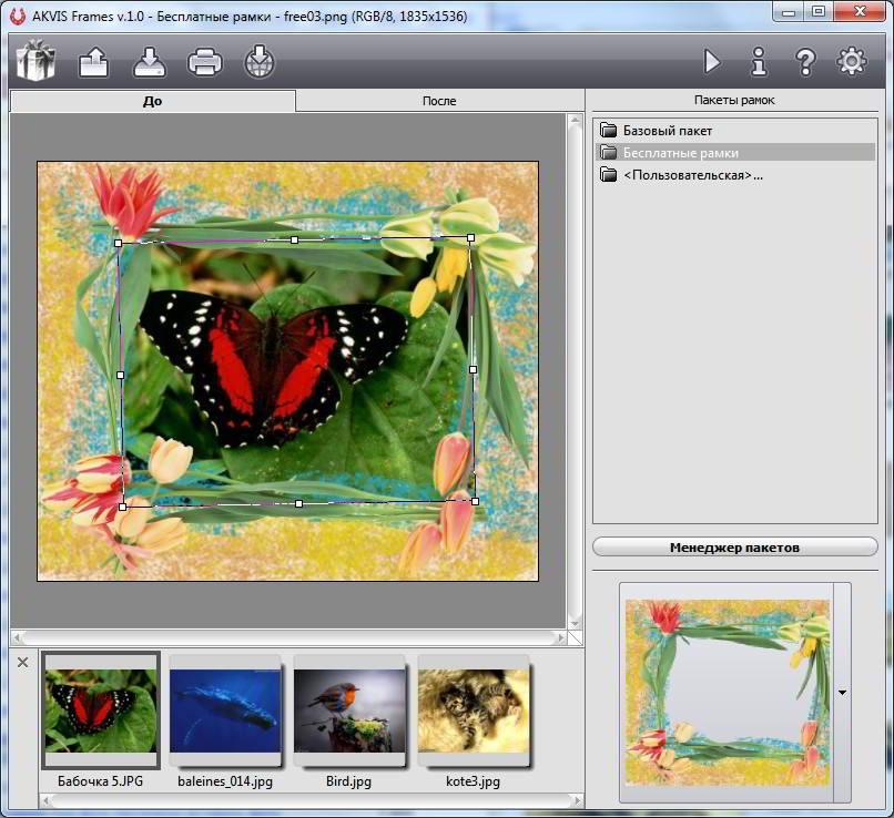 программы с рамками для фотографий сегодня выкладываю варианты