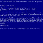 BlueScreen Screen Saver