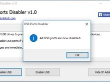 USB Ports Disabler