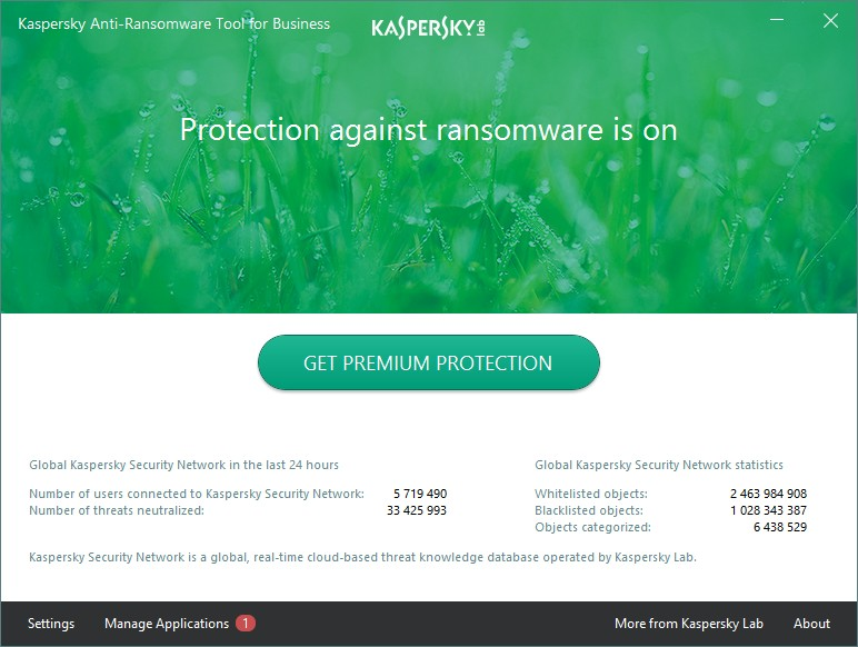 Kaspersky Anti-Ransomware Tool for Business