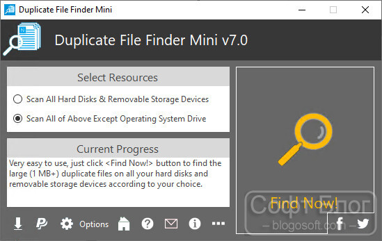 Duplicate File Finder Mini